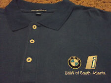 New Men's BMW of South Atlanta GA Long Sleeve Polo Shirt NWOT Size 3XL NWOT