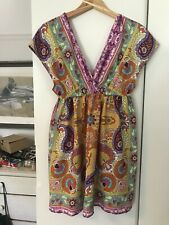 River Island Chelsea Girl Vintage Retro 60's Mini Dress Top Sz 10-12