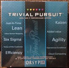Trivial Pursuit ORSYP LEAN & IT Performance Edition NEW Management Skills