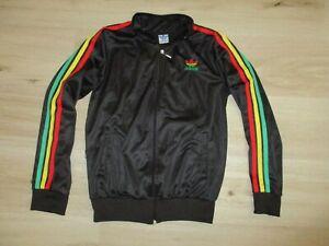 ADIDAS tracksuit RASTA sweatshirts vintage jacket oldschool 80s 90s jamaica