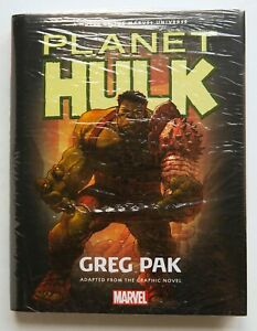 Planet Hulk Hardcover Marvel Prose Novel Book