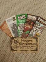 Vintage Hersheypark Brochures 1979 Hershey Chocolate Town, Milton Hershey School