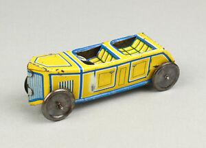 TECHNOFIX 185 Blech Auto Cabrio 1930 Vintage Penny Toy Tin Car Vorkrieg PKW 10cm