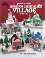 Home for Christmas VILLAGE Book One in Plastic Canvas ASN 3066