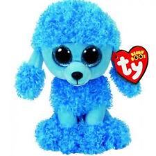 Peluche TY BEANIE BOOS MANDI barboncino blu 15 cm