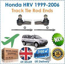 For Honda HRV HR-V 1.6 1999-2006 2 Inner & 2 Outer Track Rack Tie Rod Ends New