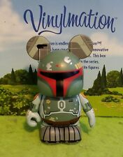 "Disney Vinylmation 3"" Park Set 4 Star Wars Boba Fett Topper"