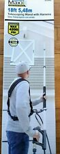 SurfaceMaxx Pro 18ft Telescoping Pressure Washer Wand 4200-Psi 3 Sections