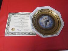 Gold Jesus Vatican Museum = Raphael's Transfiguration = Franklin Mint Plate