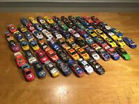 VROOM! Lot Of 66 NASCAR 1/64 Diecast -- Racing Champions, Caliber, Hot Wheels