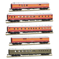 Micro-Trains N Cotton Belt Daylight Heavyweight 5 car set MTL99301720