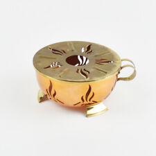 Teapot Warmer Brass And Copper - Vintage Warmer Brass Copper