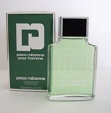 PACO RABANNE POUR HOMME 100ml APRES-RASAGE  AFTERSHAVE for MEN in Folie