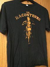 The Raconteurs - MMXI - Black Shirt.  L.