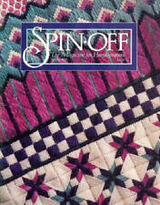 Spin-off magazine Spring 1991:friendship scarves angora