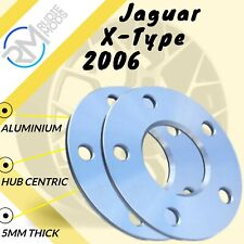 Jaguar X-Type 2006 on 5mm alloy hubcentric wheel spacers 5x108 PCD