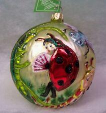 Slavic Treasures Retired Glass Ornament - Don'T Bug Me