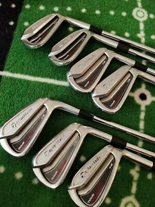 7 x Taylormade Tour Preferred CB Iron Set (4-PW) - Right Handed - Stiff KBS