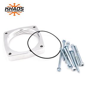 Khaos Motorsports Helix Throttle Body Spacer Dodge Charger/Challenger HEMI 90mm