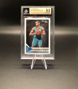 2019 Donruss #219 PJ Washington Jr. BGS 9.5 Gem Mint Rated Rookie Hornets