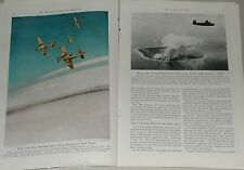 1946 magazine article US Air Power, HAP ARNOLD, color photos, US Air Force