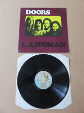 THE DOORS L.A. Woman LP EMBOSSED SLEEVE BUTTERFLY LABELS A1 / B2 UK PRESSING