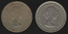 More details for 1966 elizabeth ii two shillings coins thin & normal planchet | pennies2pounds