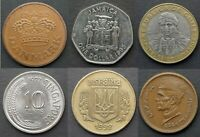 WORLD COINS - CHOOSE FROM LIST - 61 DIFFERENT COINS - £0.99  EACH - FREE P&P