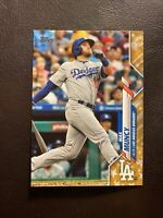 2020 Topps Series 1 Los Angeles Dodgers Gold Star Parallel Max Muncy #255