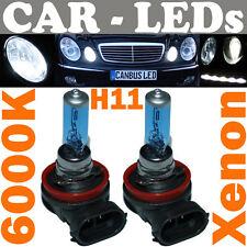 2x 12V Xenon H11 Halogen 6000K Bulb 55W Incandescent Light Bulb Halogen White