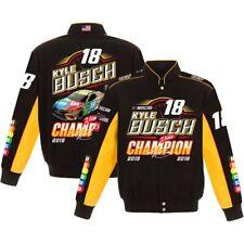Kyle Busch #18 2019 Championship Black Twill Jacket IN STOCK!! NASCAR
