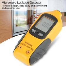 HT-M2 Digital LCD Display Microwave Leakage Detector Exhaust Gas Analyzer Yellow
