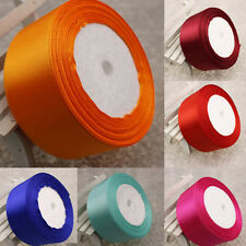 HOT 25Yards(40mm)craft Bows Satin Ribbon Wedding Party Craft Satin DIY hair Bow
