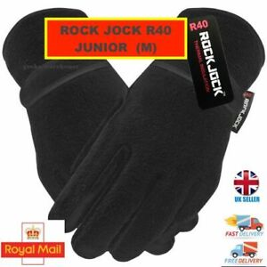 ROCKJOCK / Thinsulate Soft Fleece Winter Gloves Boys/Girls/Childrens  M Kids 4-8
