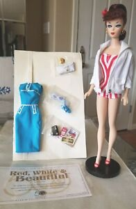 2009 Red White & Beautiful Barbie National Convention Doll Limited Edition 1500