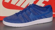 Nike Tennis Classic Ultra Flyknit Mens Blue Textile Athletic Training Shoes 10