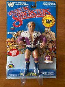 WWF WWE Harley Race LJN Wrestling Superstars MOC