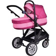 KombiKinderwagen Pink UVP 399€ Kinderwagen Set 2in1 Zooper Flamenco Terra Red