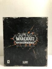 New listing World of Warcraft: Cataclysm Collector's Edition Open Box
