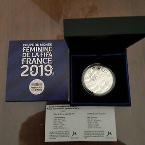 Coffret 10€ argent 2019 Coupe du Monde Féminine Gardienne de but france