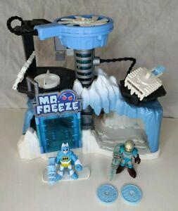 IMAGINEXT BATMAN DC COMICS BATMAN & MR FREEZE HEADQUARTERS LAIR Action Figure