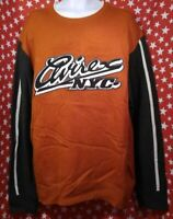 Avirex Mens Crewneck Sweater Size XL Big Logo New NWT 90s Hip Hop vtg