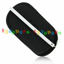Soft Pouch Protective Bag Case + Strap For Sony PSP 1000 2000 3000