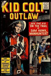 Kid Colt Outlaw #84...7.0+ FVF...Presents nicer than grade...Atlas Comics