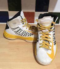 Nike Starz Hyperdunk UK 6 US 8.5 EU 40 Yellow White Black 553204-991