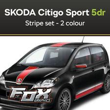 Skoda Citigo Sports 5DR - 2 colour Stripe set (choice of colours available)