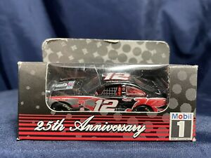 NEW! Mobil 25th Anniversary NASCAR #12 Jeremy Mayfield Die Cast Stock Car