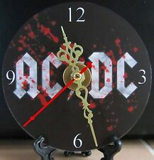Brand New AC/DC CD Clock Music Hard Rock Heavy Metal Nice!!