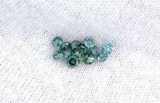 ONE 2.7mm to 2.8mm Round Brilliant Blue Green Diamond Gem Gemstone SI Wholesale