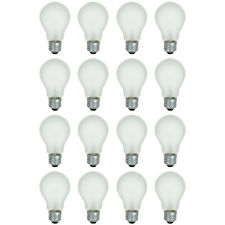 16-Pack 40 Watt Soft White Light Bulbs Standard Incandescent 130V NEW!!!